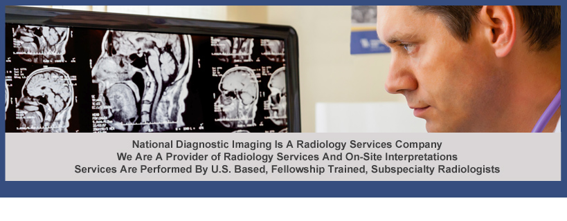 NDI Is A Radiology Services Company And Provider Of On-Site Interpretations